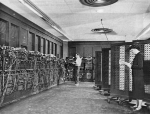 """Eniac"" by Unknown - U.S. Army Photo. Licensed under Public Domain via Wikimedia Commons."